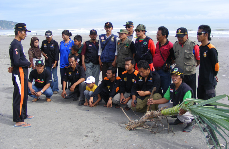 ... Pandan Berduri yang Dipimpin oleh JZ12CP Ketua RAPI Kabupaten Bantul